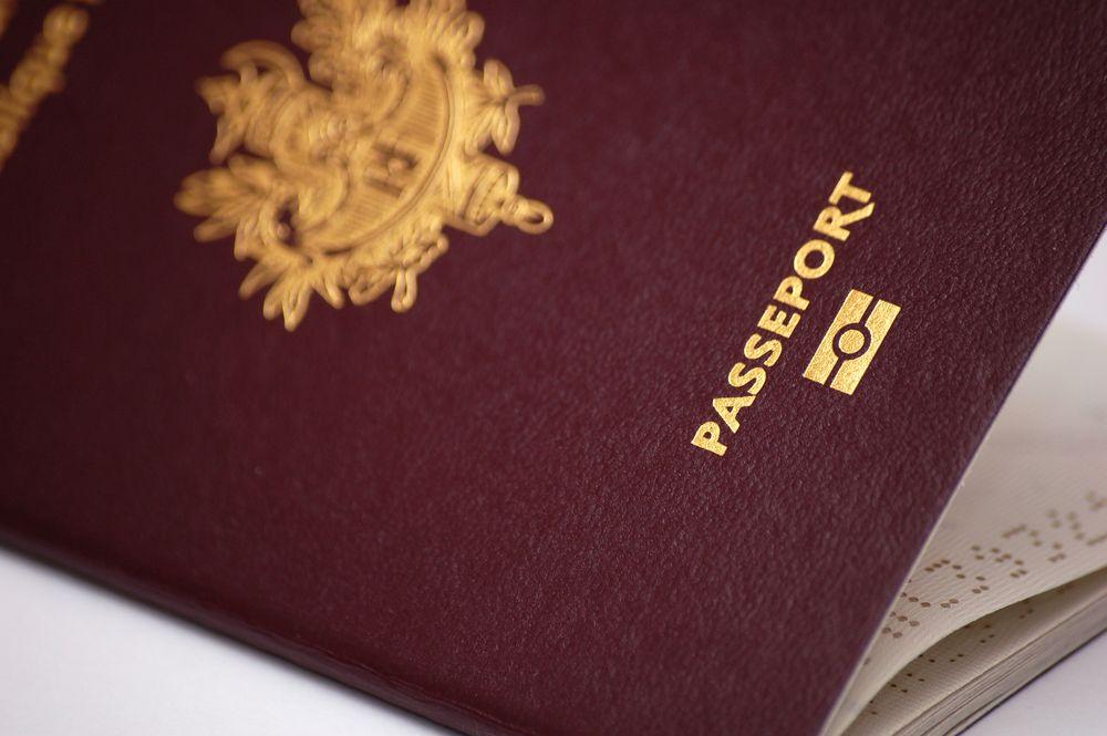 Passeport pour un voyage à Dubai