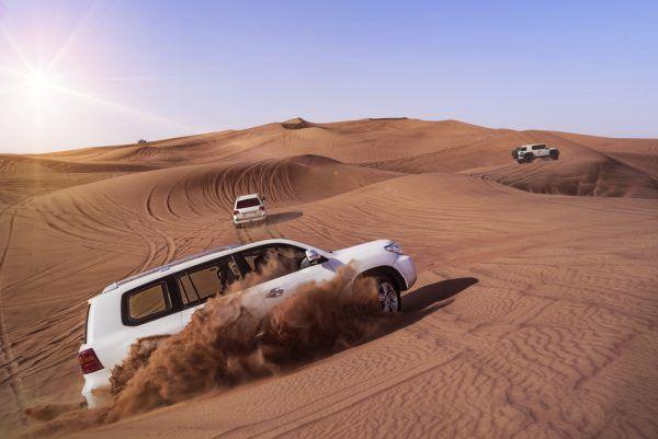 Sortie dans le désert à Dubai
