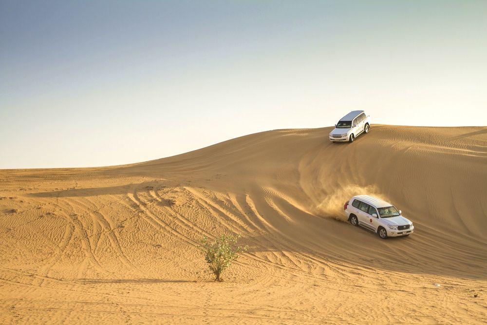 Excursion dans le désert à Dubai