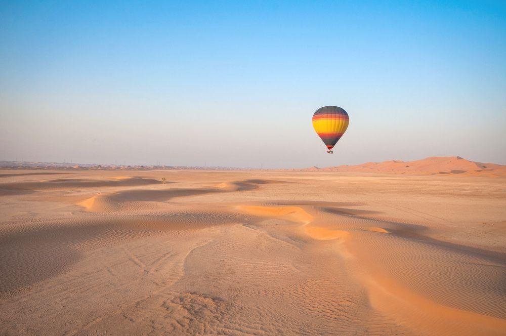 Activité montgolfière à Dubai
