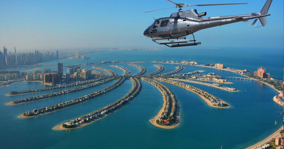 Survol en hélicoptère de Dubai