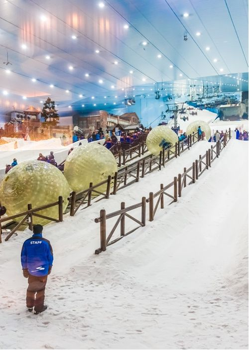 Ski Dubai dans top 10 à Dubai