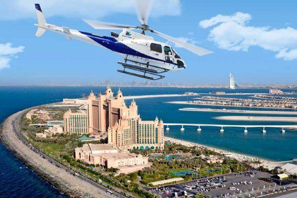 Tour en hélicoptère à Dubai