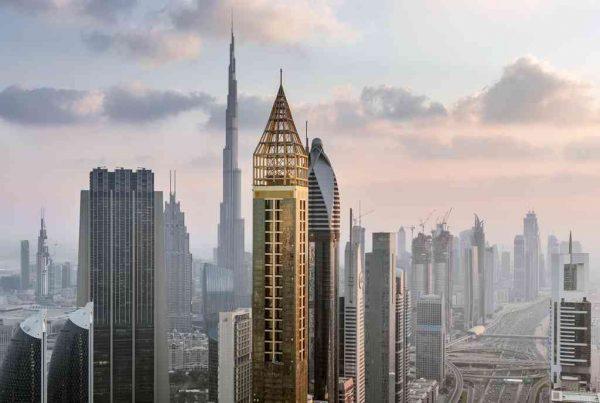 Plus haut hôtel du monde à Dubai