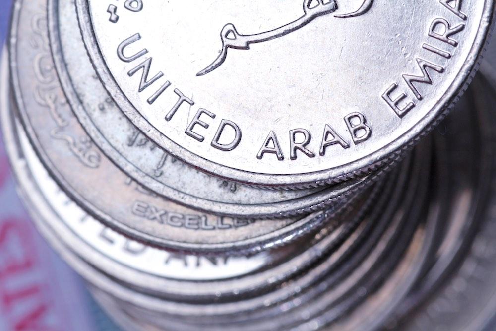 Monnaie à Dubai
