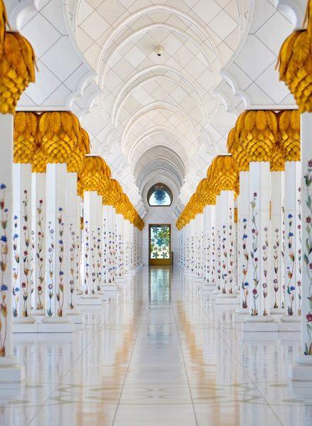 Visite de la mosquée Cheikh Zayed à Abu Dhabi