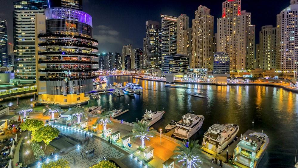 Dîner croisière à Dubai Marina