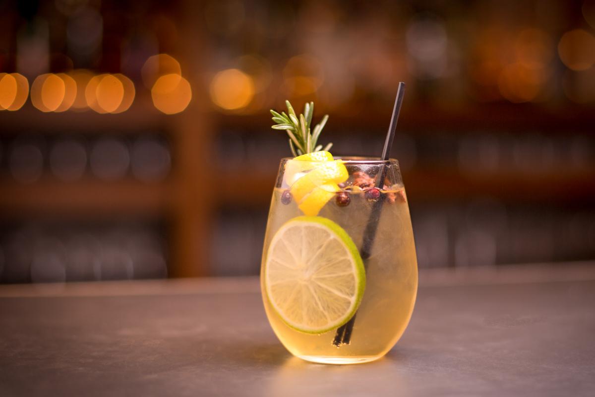 Cocktail au SkyView Bar du Burj al Arab