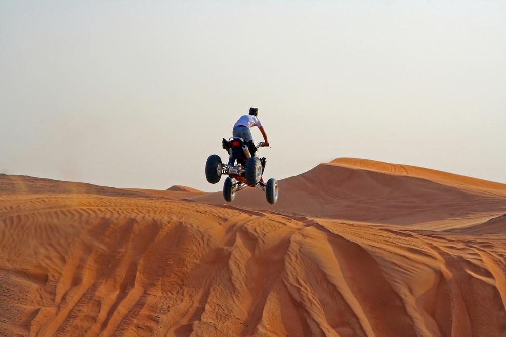 Désert de Dubai en quad