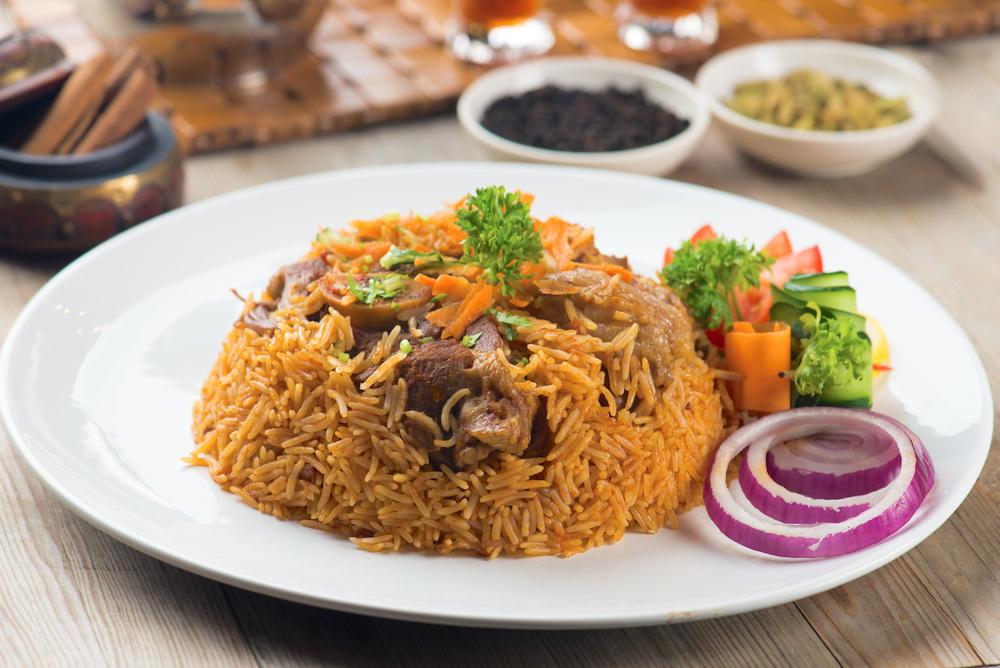 Cuisine arabe au Burj al Arab