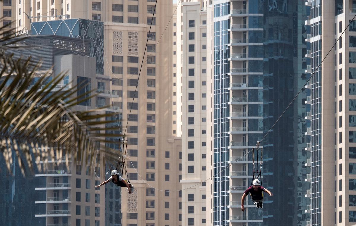 Tyrolienne à Dubaï : XLine